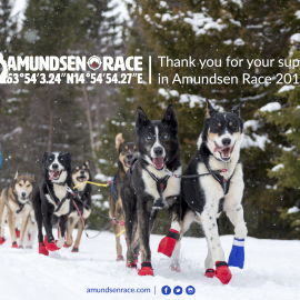 Thank you for Amundsen Race 2017