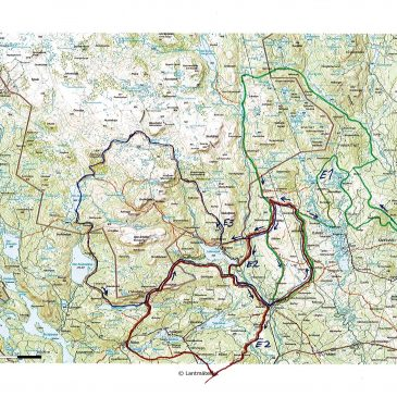 Trail maps and GPS ready